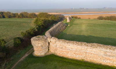 Burgh Castle Fort guided tours return
