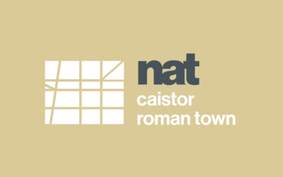 Visitor surveyor – Caistor Roman Town