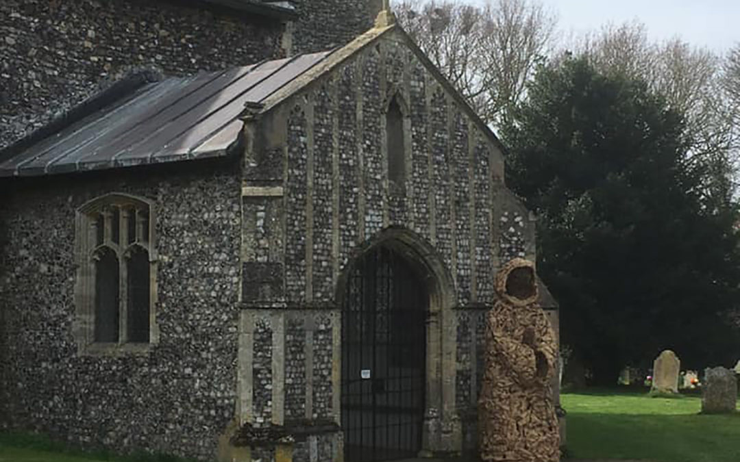 Working with willow – St Benet's Abbey