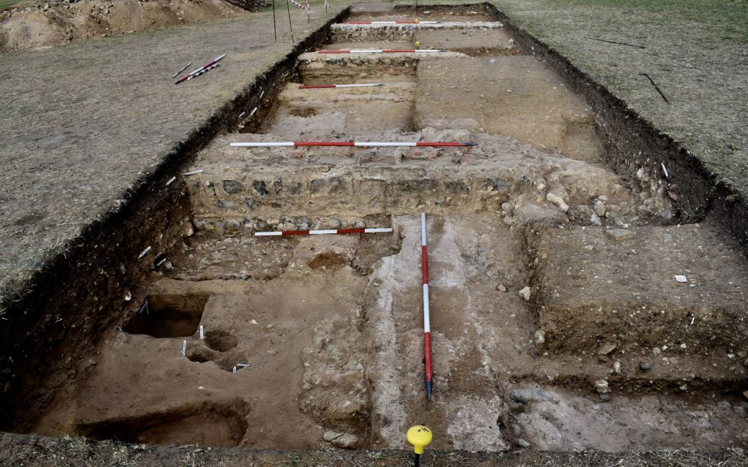 Excavations at Caistor Temple Field 2019