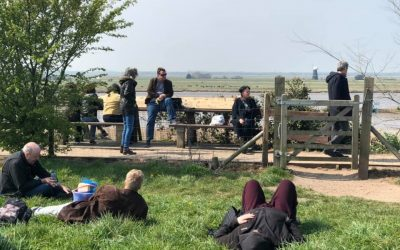 Burgh Castle Almanac – a view from the ground