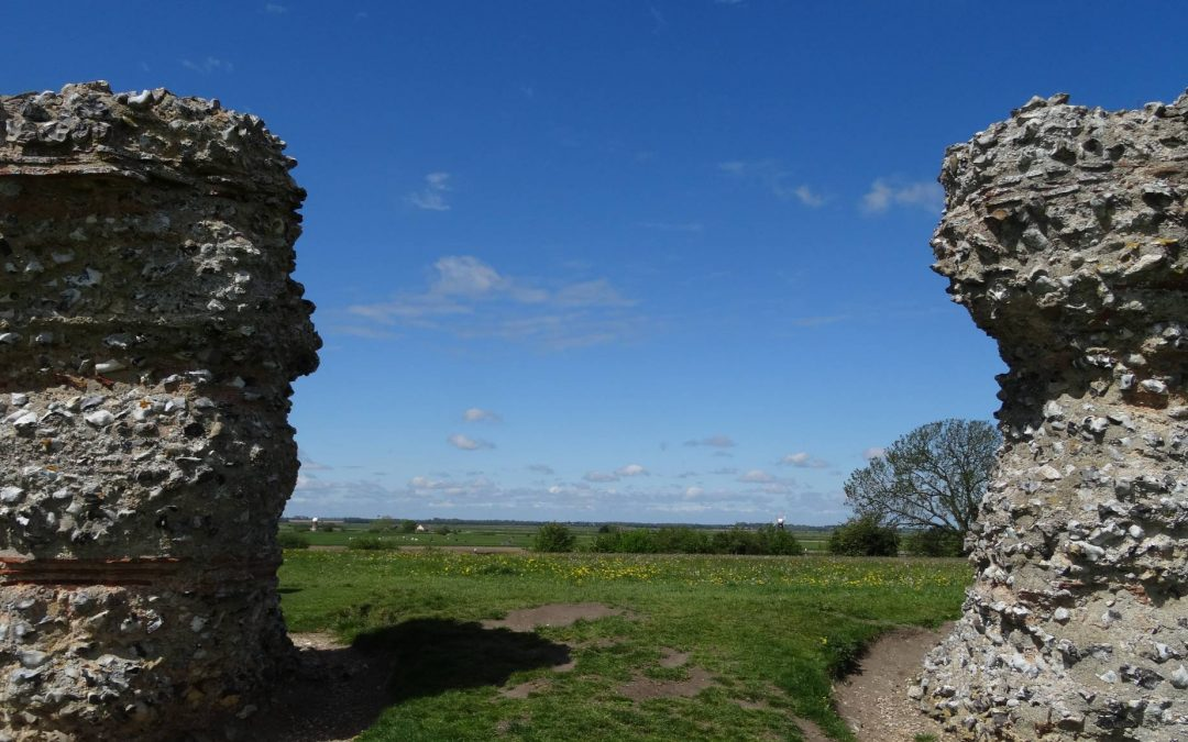 Burgh Castle Fort and Caistor Roman Town car parks re-open