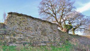 Caistor Roman Town wall