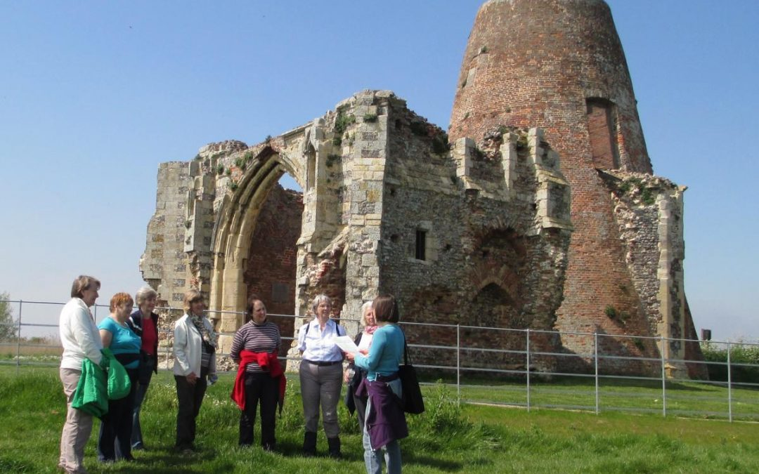 Guided tour at St Benet's